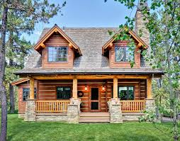 charming contemporary log home plans kn jpg