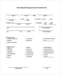Emergency Contact Sheet Insaat Mcpgroup Co
