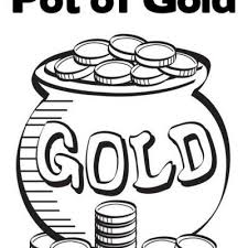 Small Picture Pot of Gold Coloring Page Tip Junkie
