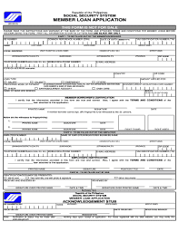 Loan Application Form 81 Printable Loan Application Form Templates Fillable Samples In