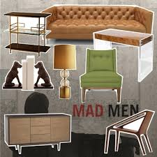 mad men style furniture. Decor Style: MAD MEN, K*SPACE Mad Men Style Furniture U