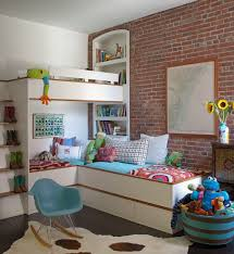 Kids Bedroom Wall 25 Vivacious Kids Rooms With Brick Walls Full Of Personality