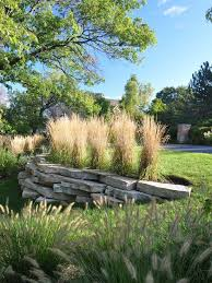 Backyard Retaining Wall Designs Mesmerizing Natural Stone Retaining Wall Design Ideas Contemporary Landscape