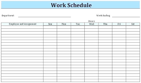 Daily Routine Maker Work Schedule Creator Free Familycourt Us