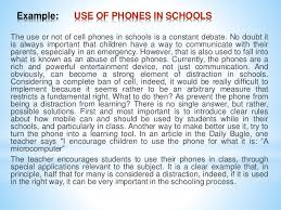 persuasive essay about using cellphones in school essay on should students be allowed to use cell phones in school