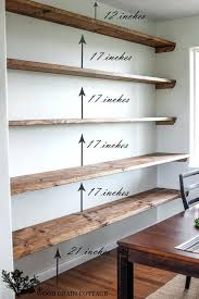 wall shelves for office. Office Floating Shelves Unbelievable Design Wall Perfect Ideas Best Shelving On Home Study Rooms Space For