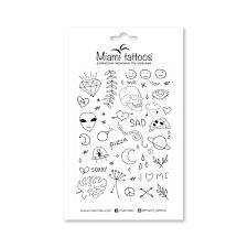 интернет магазин временных переводных татуировок Miami Tattoos в украине