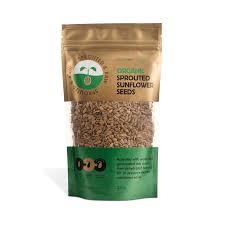 <b>Sprouted</b> & Raw <b>Organic Sunflower Seeds</b> 250g — Sun & Seed