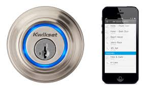front door locksiPhoneOperated Digital Lock Makes House Keys a Thing of the Past
