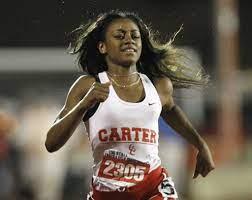 Dallas Carter's Sha'Carri Richardson is ...