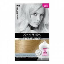 John Frieda Precision Foam Color Chart Details About Extra Light Natural Blonde John Frieda Precision Foam Colour Hair Dye