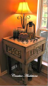 Creative End Table Ideas. diy-crate-end-table