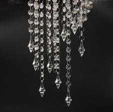 33ft crystal garlands acrylic bead strands manzanita tree wedding centerpieces hanging diamond decoration garland crystals hanging garland bead