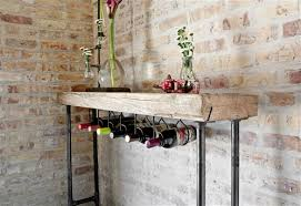 industrial reclaimed wood furniture. Modern Industry Reclaimed Wood Console Table Industrial Furniture