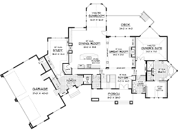 country house plan first floor 091d 0476 house planore