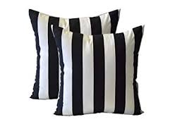 Black And White Outdoor Pillow Covers