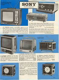 sony tv radio. 1970 ad sony 12\ tv radio