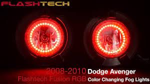 2010 Dodge Avenger Fog Light Bulb Dodge Avenger V 3 Fusion Color Change Led Halo Fog Light Kit