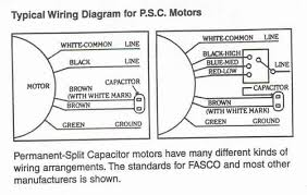 wiring diagram permanent split capacitor motor wiring psc motor on wiring diagram permanent split capacitor motor