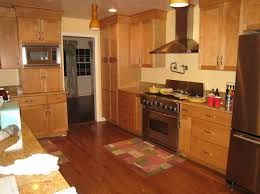 pleasing color schemes for kitchens with oak cabinets creative