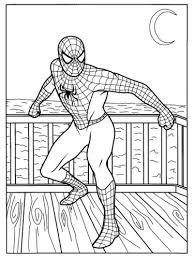 Spiderman Immagine Da Colorare N 8760 Cartoni Da Colorare