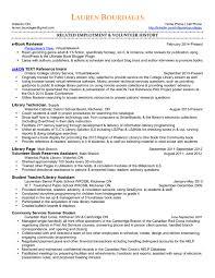 Librarian Resume Template Librarian Resume Sample Free Resume