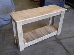 pallet furniture table. Hallway Pallet Table Furniture I