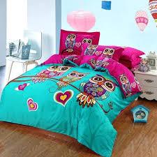 girls quilts whole kids owl bedding set blue boys quilt duvet cover bed sheet cartoon girls quilts best comforter set