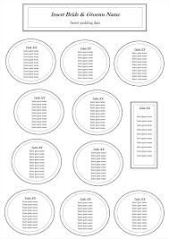 wedding guest seating chart template wedding guest seating chart template