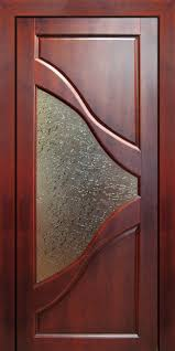 interior doors with stained glass modern wooden door with glass