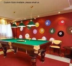 This impressive set of colorful wall stickers resemble billiard balls is an  ideal solution for any