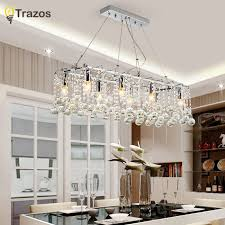 top 10 modern minimalism led crystal chandelier lighting ceiling chandeliers light lamparas de techo hanglamp suspension