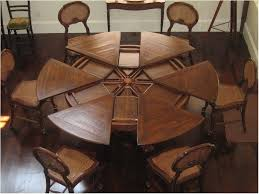 superb large round dining table set large round dining table seats 12