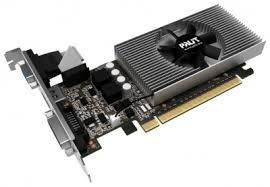 <b>Видеокарта Palit GeForce GT</b> 730 (2Gb GDDR5, VGA + DVD-D + ...