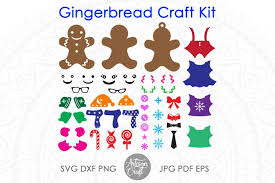 Free icons of kit in various design styles for web, mobile, and graphic design projects. Free Svgs Download Gingerbread Man Svg Kit Christmas Paper Crafts Clip Art Free Design Resources