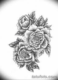 эскиз тату цветы на руку 5 Tatufotocom