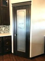 pantry door glass