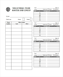Roster Sheet Template 21 Roster Form Templates 0 Freesample Example Format