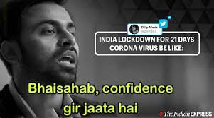 Lockdown, quarantine and self isolation memes and jokes. As 21 Day Lockdown Starts India S Netizens Find Solace In Memes And Jokes Trending News The Indian Express