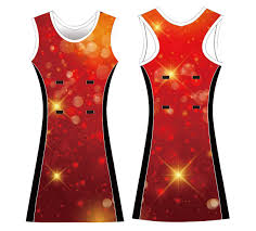Yellow Color Sublimated Customized Oem Netball Wear