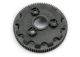 Traxxas 4686 Spur Gear 86 Tooth 48 Pitch For Models With Torque Control Slipper Clutch