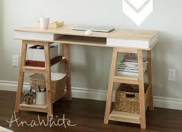 dual desk bookshelf small. DIY Desk With Storage Dual Bookshelf Small