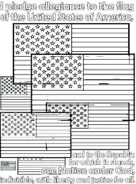 Printable American Flag To Color Free Flag Color Pages First Flag
