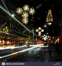Christmas Lights For Street Lights Christmas Lights On Sloane Street London Uk Stock Photo