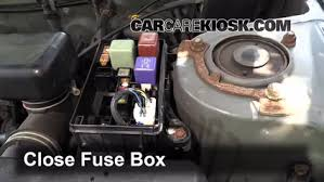 blown fuse check 1996 2000 toyota rav4 2000 toyota rav4 2 0l 4 cyl Toyota Rav4 Fuse Box 6 replace cover secure the cover and test component toyota rav4 fuse box diagram