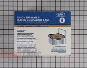 Trash Compactor Bags   Part # 1455119 Mfg Part # W10165294RB