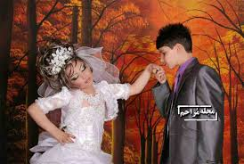 ازدواج دختر10ساله با پسر14ساله!!! حامله شدن دختر از پسر+عکس