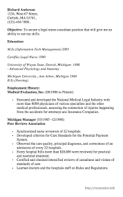 resume specialties examples here is the free example of legal nurse consultant resume