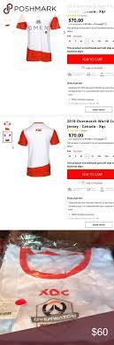 2018 Overwatch World Cup Jersey Canada 2018 Overwatch World
