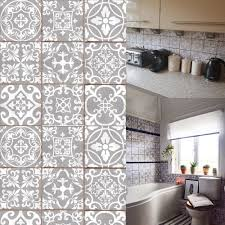 details about stick on wall tile mosaic style moroccan victorian retro self adhesive transfers